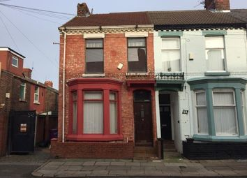 Thumbnail 3 bed end terrace house for sale in 26 Malden Road, Kensington, Liverpool