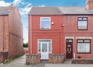 Thumbnail 2 bedroom end terrace house for sale in Meadow Street, Dinnington, Sheffield