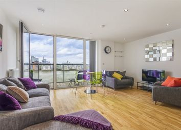 Thumbnail 2 bed flat for sale in Beacon Point, 12 Dowells Street, New Capital Quay, London