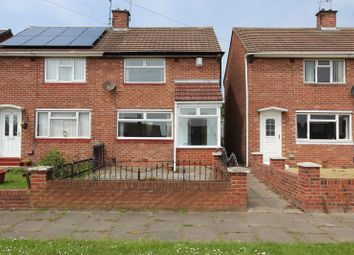 Thumbnail 2 bedroom semi-detached house for sale in Galashiels Road, Grindon, Sunderland