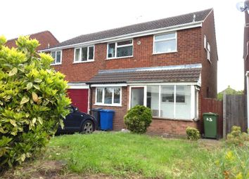 Thumbnail 3 bed property to rent in St. Peters Close, Tamworth