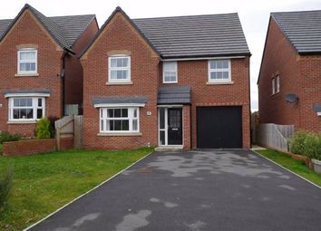 Thumbnail 4 bed detached house to rent in Ffordd Boydell, Deeside, Flintshire