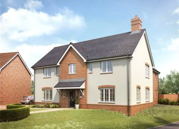 Thumbnail 5 bed detached house for sale in Round House Gate, Cringleford, Norwich, Norfolk