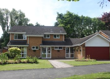 Thumbnail 4 bed detached house for sale in Welcombe Grove, Solihull