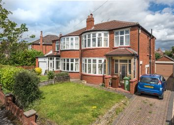 Thumbnail 3 bedroom semi-detached house for sale in Kingswood Crescent, Leeds, West Yorkshire