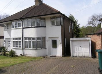 Thumbnail 3 bed semi-detached house to rent in Hampden Way, Southgate, London