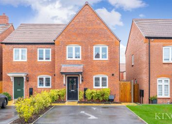 Thumbnail 3 bed semi-detached house for sale in Spearhead Road, Bidford-On-Avon, Alcester