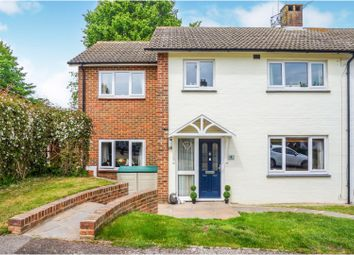 Thumbnail 4 bed semi-detached house for sale in Horwood Close, Rochester
