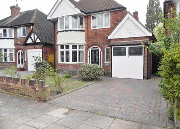 Thumbnail 3 bed detached house to rent in Chestnut Drive, Erdington, Birmingham