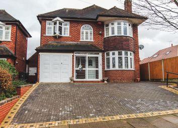 Thumbnail 4 bed detached house for sale in Hudson Road, Handsworth Wood, Birmingham