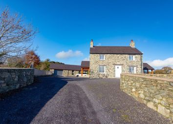 Thumbnail 5 bed detached house for sale in Lon Ganol, Menai Bridge