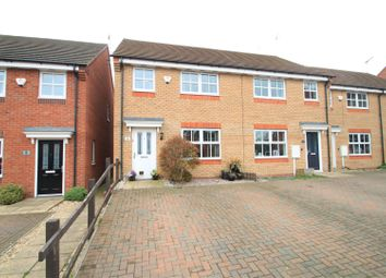 Thumbnail 3 bedroom semi-detached house for sale in Pickering Close, Stoney Stanton, Leicester