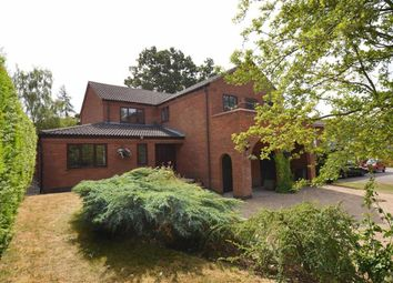 Thumbnail 4 bed detached house for sale in Park Hill, Gaddesby, Leicester