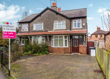 Thumbnail 3 bed semi-detached house for sale in Park Road, Loughborough, Leicestershire