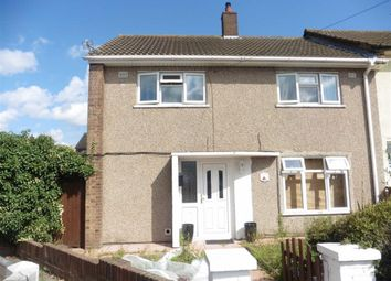 Thumbnail 3 bed end terrace house to rent in Jenningham Drive, Grays