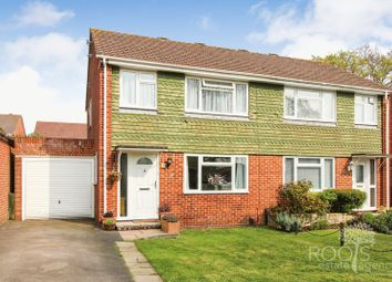 Thumbnail 3 bedroom semi-detached house for sale in Parkside Road, Thatcham