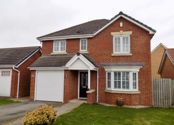 Thumbnail 4 bedroom detached house for sale in The Covert, Coulby Newham, Middlesbrough