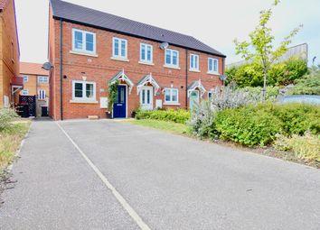 Thumbnail 2 bed terraced house for sale in Wharf Road, Kilnhurst, Mexborough