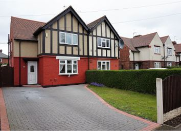 Thumbnail 3 bedroom semi-detached house for sale in Harvey Road, Derby