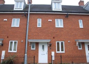 Thumbnail 3 bed town house to rent in Charlottes Row, Rushden