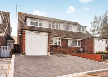 Thumbnail 3 bed semi-detached house for sale in Hillcrest Road, Stanford-Le-Hope