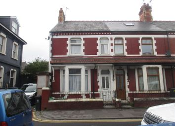Thumbnail 3 bedroom end terrace house for sale in Llandaff Road, Canton, Cardiff