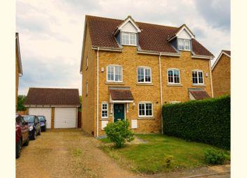 Thumbnail 4 bed semi-detached house for sale in Harvest Close, Doddington
