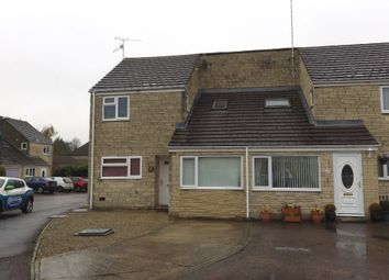 Thumbnail 4 bed end terrace house for sale in Rose Way, Cirencester