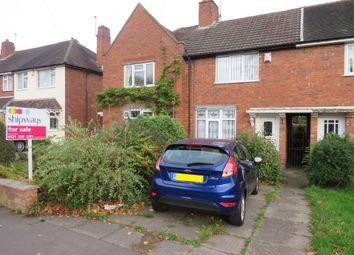 Thumbnail 2 bed terraced house for sale in Haddon Road, Great Barr, Birmingham