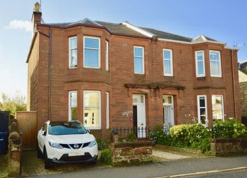 Thumbnail 4 bed semi-detached house for sale in St. Leonards Road, Ayr