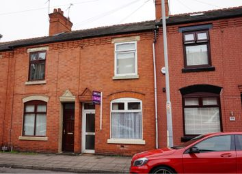 Thumbnail 3 bed terraced house for sale in Halstead Street, Leicester