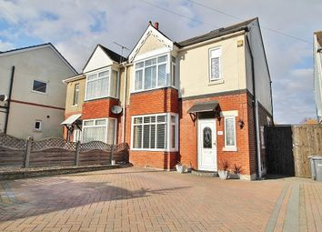 Thumbnail 3 bed semi-detached house for sale in Park Avenue, Purbrook, Waterlooville