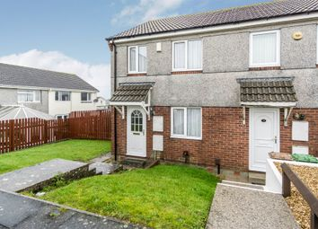 Thumbnail 2 bedroom end terrace house for sale in Howard Close, Kings Tamerton, Plymouth