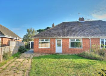 Thumbnail 2 bed semi-detached bungalow for sale in Neylond Crescent, Norwich