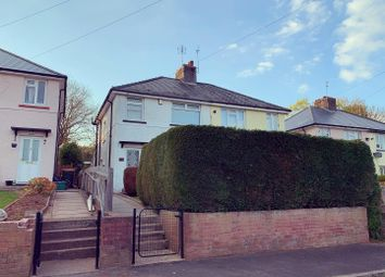 Thumbnail 3 bedroom semi-detached house for sale in Lodge Avenue, Caerleon, Newport