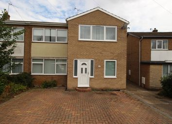 Thumbnail 4 bed semi-detached house for sale in Newbury Way, Doncaster