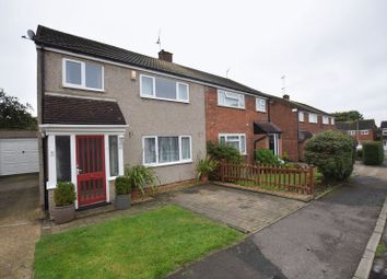 Thumbnail 3 bed semi-detached house for sale in Cleeve Crescent, Bletchley, Milton Keynes