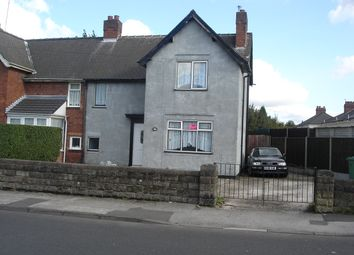 Thumbnail 3 bed semi-detached house for sale in Willenhall St, Darlaston