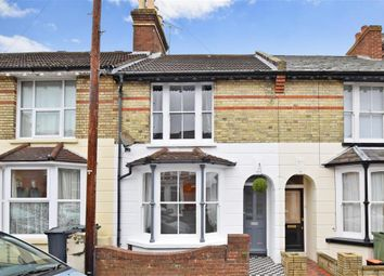 Thumbnail 3 bed terraced house for sale in Sussex Avenue, Ashford, Kent