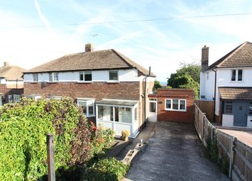 Thumbnail 3 bed semi-detached house for sale in Wear Bay Road, Folkestone