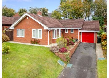 Thumbnail 3 bed detached bungalow for sale in Charlton Rise, Ludlow
