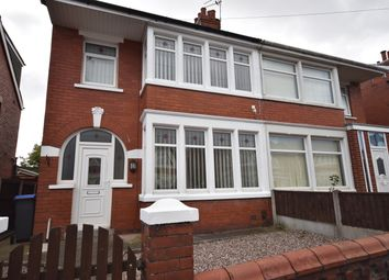 Thumbnail 3 bed semi-detached house to rent in Fordway Avenue, Blackpool