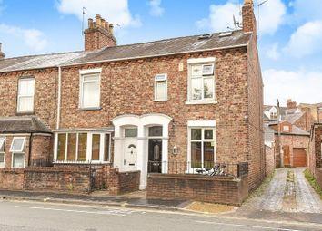 Thumbnail 3 bed terraced house for sale in Poppleton Road, Holgate, York