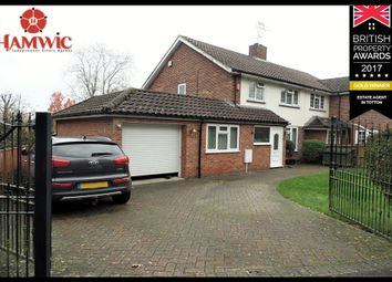 Thumbnail 3 bed semi-detached house for sale in Calmore Crescent, Southampton