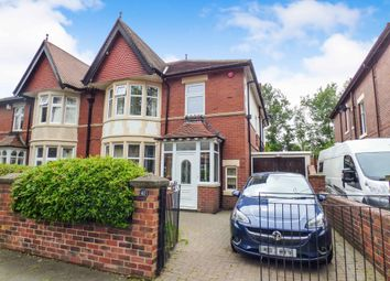 Thumbnail 4 bed semi-detached house for sale in Grosvenor Drive, Whitley Bay