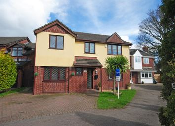 Thumbnail 4 bedroom detached house for sale in Mallards Reach, Marshfield, Cardiff