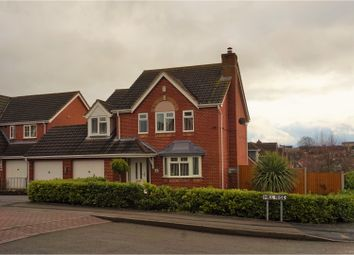 Thumbnail 4 bed detached house for sale in Hill Rise, Swadlincote