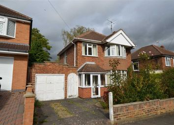 Thumbnail 3 bed detached house for sale in Englefield Road, Leicester