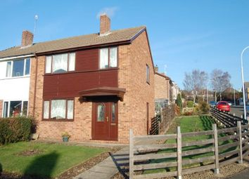 Thumbnail 3 bed semi-detached house to rent in Langtree Avenue, Old Whittington, Chesterfield