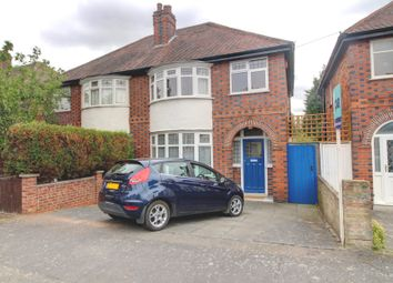 Thumbnail 3 bed semi-detached house for sale in Oakthorpe Avenue, Western Park, Leicester